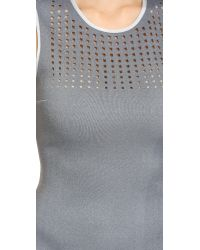 Clover Canyon | Gray Laser Dress - Grey/White | Lyst