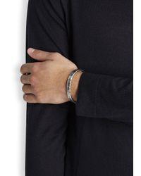 Speedometer Official - Metallic Silver Tone Marine Steel Bracelet for Men - Lyst