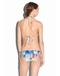 MILLY - Multicolor Marble Isla Mujeres Bikini Top - Lyst