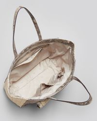 Tory Burch - Natural Thea Leather Tassel Hobo Bag - Lyst