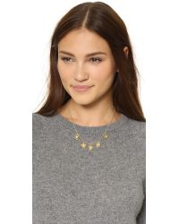 Elizabeth and James | Metallic Polaris Necklace | Lyst