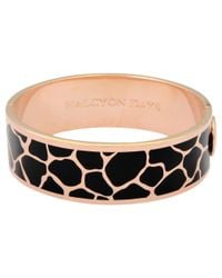 Halcyon Days | Pink Giraffe Bangle | Lyst