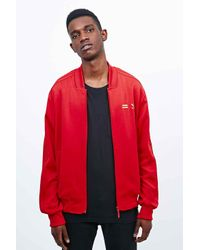 babaccd21 adidas X Pharrell Supercolor Track Jacket In Red in Red for Men - Lyst
