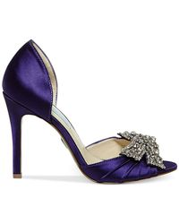Betsey Johnson - Purple Blue By Gown Evening Pumps - Lyst