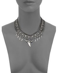 DANNIJO - Metallic Gill Necklace - Lyst