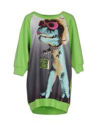 Boutique Moschino - Green Sweatshirt - Lyst