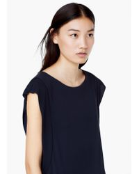 Mango | Blue Shift Dress | Lyst