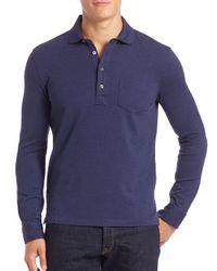 Polo Ralph Lauren | Blue Cotton Polo Shirt for Men | Lyst