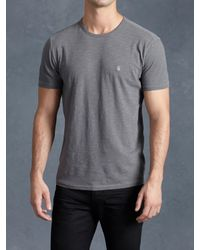 John Varvatos | Metallic Peace Crew for Men | Lyst