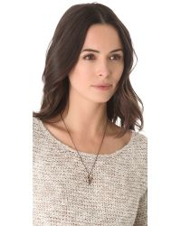 Pamela Love | Metallic Mini Arrowhead Pendant Necklace | Lyst