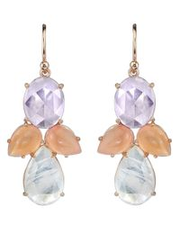 Irene Neuwirth | White Moonstone Earrings | Lyst