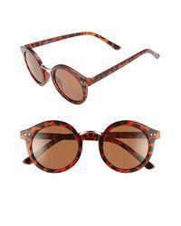 A.J. Morgan Multicolor 'randall' 46mm Sunglasses