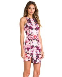 Nicholas - Rose Reflect Denim Dress in Pink - Lyst