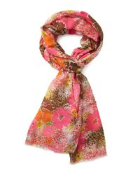 Forever 21 - Multicolor Flower Power Woven Scarf - Lyst