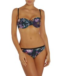 Ted Baker | Multicolor Bm Shadow Floral Bikini Bottom | Lyst