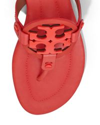 Tory Burch - Red Miller Sandal, Leather - Lyst