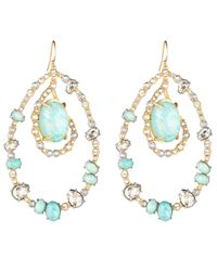 Alexis Bittar - Blue Moonlight Orbiting Link Earring - Lyst