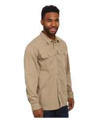 Patagonia | Gray All Season Field Shirt for Men | Lyst