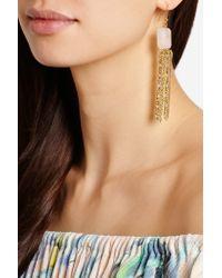 Rosantica - Metallic Etrusca Gold-tone Quartz Earrings - Lyst