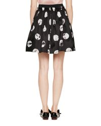 kate spade new york - Black Moonbeam Gwyn Skirt - Lyst