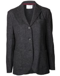 Harris Wharf London | Gray Blazer Jacket | Lyst