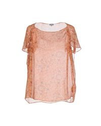 INTROPIA - Pink Blouse - Lyst