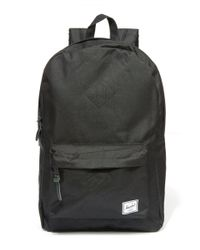Herschel Supply Co. - Black Heritage Quilted Backpack for Men - Lyst