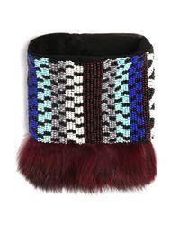 Mignonne Gavigan | Purple Kaia Bracelet Maroon | Lyst