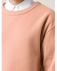 Vika Gazinskaya - Orange Boxy Sweatshirt - Lyst