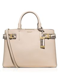 Michael Kors | White Bette Large Satchel Bag | Lyst