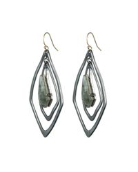 Alexis Bittar | Metallic Orbit Teardrop Pyrite Earring | Lyst
