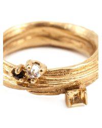 Kelly Wearstler | Metallic 'byxbee' Ring | Lyst