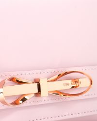 Ted Baker - Pink Patent Leather Cross Body Bag - Lyst