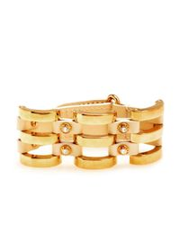 Henri Bendel - Metallic The Ace Cage Cuff - Lyst