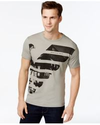 Armani Jeans | Gray City T-shirt for Men | Lyst