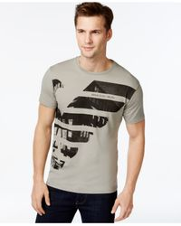 Armani Jeans - Gray City T-shirt for Men - Lyst