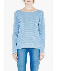 M.i.h Jeans - Blue Bretonic Top - Lyst