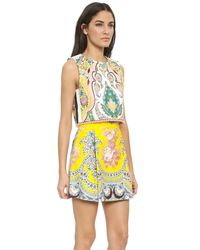 MSGM - Msgm - Yellow Multi - Lyst