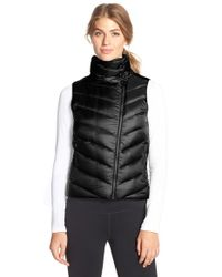 Patagonia | Black 'prow' Quilted Down Vest | Lyst