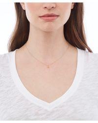 Alex Monroe - Metallic 18ct Gold Teeny Tiny Swallow Fine Chain Necklace - Lyst