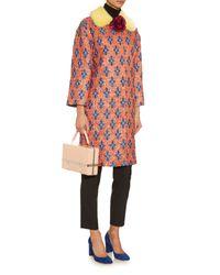 Gucci - Multicolor Matelassé Losanga Jacquard Coat - Lyst