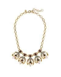 J.Crew | Metallic Crystal Honeybee Necklace | Lyst