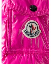 Moncler - Pink Bady Quilted Jacket - Lyst