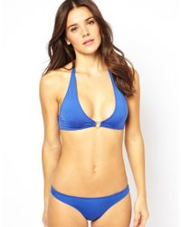 Pistol Panties | Olivia Blue Yale Bikini Set | Lyst