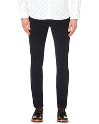Paul Smith | Blue Straight-fit Corduroy Jeans for Men | Lyst