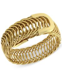 2028 | Metallic Gold-tone Belt Bracelet | Lyst