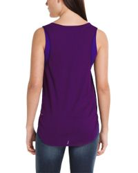 BOSS Orange | Purple 'Kethna-W' | Sleeveless Blouse | Lyst