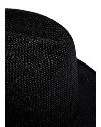 Reinhard Plank - Men's Fanelli Viscose Hat From Ss15 In Black for Men - Lyst