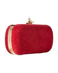 Vivienne Westwood | Red Angel Glitter Medium Clutch | Lyst