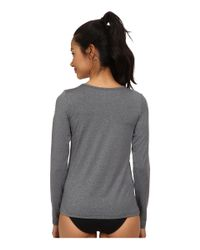 Rip Curl - Gray Wash Loose Fit Long Sleeve - Lyst